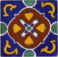 Laja - Ceramic Handcrafted Mexican Talavera Tile Decorative