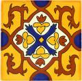 Queretaro - Handpainted Ceramic Tile