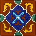 Queretaro 2 - Decorative Mexican Tile