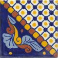 Dana - Ceramic Handcrafted Mexican Talavera Tile Decorative