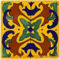 Bearritz - Ceramic Handcrafted Mexican Talavera Tile Decorative