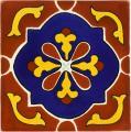 Terracotta Libro - Talavera Mexican Tile
