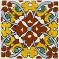 Charlotte 3 - Handcrafted Mexican Tile