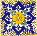 Polanco - Mexican Ceramic Decorative Tile
