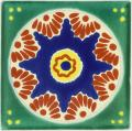 Ajalpan - Talavera Mexican Decorative Tile