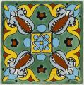Arteaga 2 - Handpainted Mexican Talavera Decorative Tile
