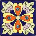 Esmeralda 2 - Mexican Ceramic Decorative Tile