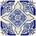 Positano - Ceramic Handcrafted Mexican Talavera Tile Decorative