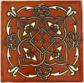 Terracotta Oriental - Decorative Mexican Tile