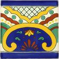 Puebla - Ceramic Handcrafted Tile Mexican Border