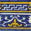 Greek 1 - Mexican Ceramic Border Tile