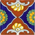 Tapalpa 1 - Mexican Talavera Handcrafted Tile
