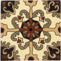 Rosario 7 Gloss - Handcrafted Malibu Ceramic Tile