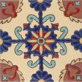 Rosario Gloss - Handpainted Malibu Ceramic Tile