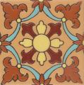 Santa Helena Flower 3 - Malibu Ceramic Decorative Tile