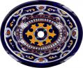 Royal - Mexican Talavera Oval Drop-in Sink