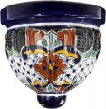 Flor Royal - Handcrafted Mexican Talavera Wall Planter