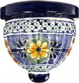 Model 3 - Mexican Pottery Talavera Wall Planter