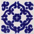 Blue Kiosco - Handcrafted Terra Nova Mediterraneo Tile