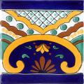 Puebla Border - Handmade Terra Nova Ceramic Tile