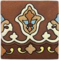 Andalucia - Handpainted Tierra Floor Tile