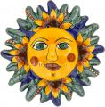 N. 7 - Decorative Mexican Talavera Wall Sun Art